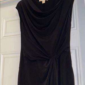 Michael Kors side ruched dress